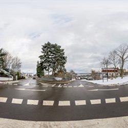 Schulstrasse – Kreisel