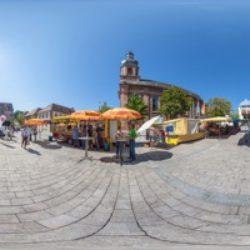 Marktplatz / Alzenauer Wochenmarkt