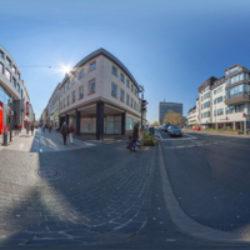 Lörstrasse Kreuzung Pfuhlgasse