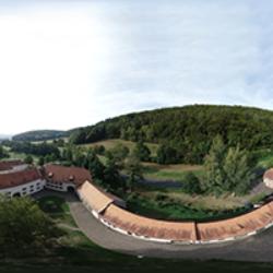 Kloster Himmelthal Vogelperspektive