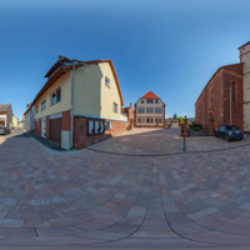 Rathaus, Schule, Kirche Röllbach