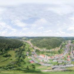 Dammbach Vogelperspektive