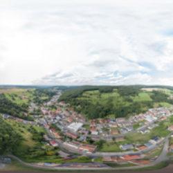 Leidersbach Vogelperspektive